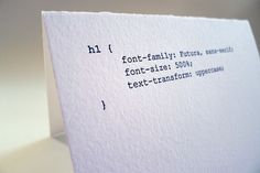 code cards. awesome.