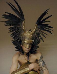 Renaissance festival - egyptian, greek god type headdress