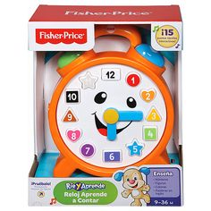 Fisher-Price Laugh & Learn Counting Clock $25