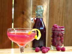 DIY Raspberry Liqueur (via Serious Eats)
