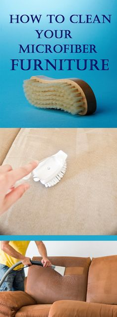 How to Clean Your Microfiber Furniture|randomsomethings.com-- I was just looking at my family room couch, which happens to be microfiber, the other day, and thinking that it could really use a good clean. I get on the web today and find this, oh what luck! I'm pinning it just in case anyone else needs to clean their family room couch too.