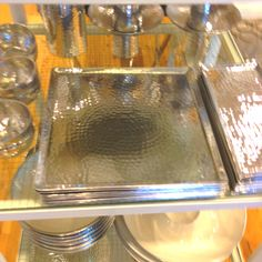 Cool tray to put perfumes etc on. From west elm