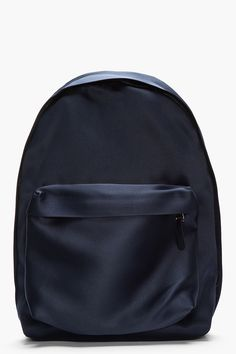 RAF SIMONS Navy nylon Eastpack collaboration backpack
