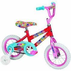 Huffy 12-Inch Girls So Sweet Bike (Candy Pink/Bubble Gum) --- http://www.amazon.com/Huffy-12-Inch-Girls-Sweet-Bubble/dp/B006LPG6V0/?tag=urbanga-20