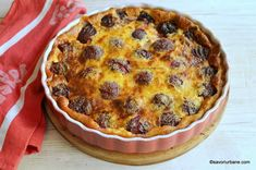 Prune Recipes, Far Breton, Kouign Amann, Easy Sweets, Plum Cake, Romanian Food, Something Sweet, Flan, Quiche