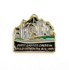 First Baptist Church Dartmouth Nova Scotia Hat Pin or Lapel Pin Dartmouth Nova Scotia, Hat Pins, Lapel Pins, Store, Hats, Accessories, Ebay, Hat, Storage