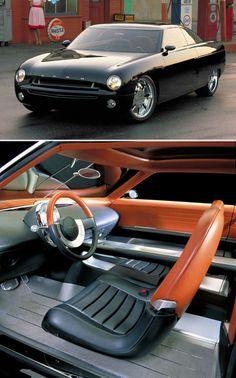 ford concept car brown black grey silver custom