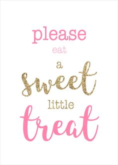 Sweet Little Treat - Pink by inspirationholly on Etsy