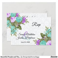Exactly Like You, Teal Flowers, Wedding Rsvp, Artist At Work, Flower Designs, Special Occasion, Greeting Cards, Engagement, Group