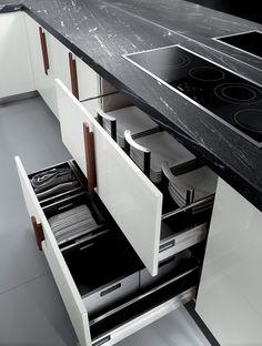 Italian Modern Design Kitchens - Barrique by Ernestomeda