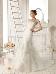 wedding dresses   Amazing Mermaid Wedding Dresses 2013 - Fashion Diva Design