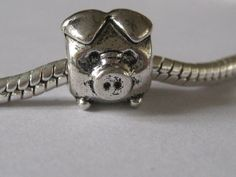 Pig Bead for your Pandora Bracelet. $2.00, via Etsy.
