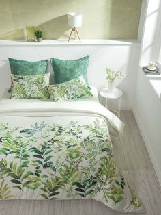Name :Leaves & Ferna Color : Use for :BEDDING Product type :Bed Sheets Design :leaves Fabric type : Cheap Bedroom Decor, Cute Room Decor, Bedroom Ideas, Duvet Bedding, Bedding Sets, Bed Cover Design, Designer Bed Sheets, Design Your Dream House, Home Decor Inspiration