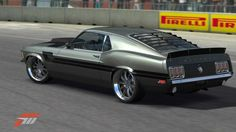 1970 Ford Mustang Fastback  Designed by Chip Foose