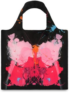 LOQI – Reusable Bag – Collection Anima – Parrot & Butterfly