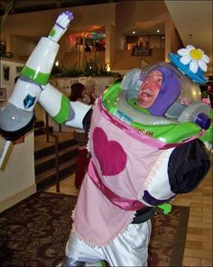 Best Toy Story Cosplay EVER!  Mrs Nesbitt.