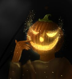 This painting is for #paintable pumpkin challenge. Pumpkin Carving, Challenges, Halloween, Digital, Amazing, Painting, Painting Art, Pumpkin Carvings, Paintings