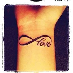 Vintage Short Love Quote Tattoos - Short Love Quote Tattoos for Women | Wrist Tattoos for girls