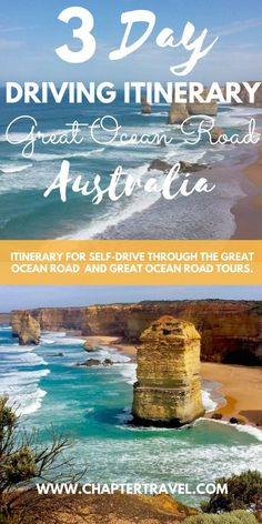 The Great Ocean Road Driving Itinerary including Great Ocean Road Tours