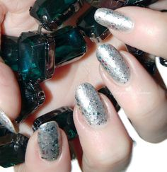 """@Tawdry Terrier """"Bark! Harold the Angel Sings"""" - Check out swatches and #review by @Melissa Goodwin of polishes from the @Tawdry Terrier Happy Howlidays collection - http://www.lacquerreverie.com/2013/11/happy-howlidays-from-tawdry-terrier-pic.html. #nailpolish #indienailpolish #tawdryterrier #christmas"""