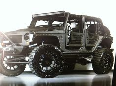 Limited Edition Call Of Duty Modern Warfare 3 Jeep Wrangler 082