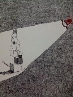 "Saatchi Art Artist Parveen Kaur Ghatorora; Drawing, ""Balance"" #art"