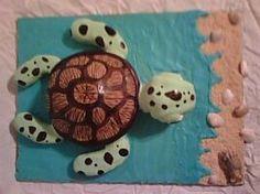 sea turtle cake — Birthday Cake Photos
