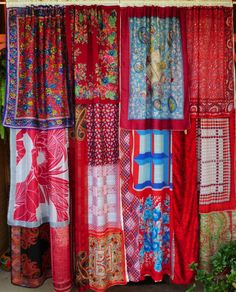 SEVEN SPANISH ANGELS  Handmade Gypsy Curtains by BabylonSisters