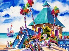 Ellen Negley Painting: Watercolor #artfestfm