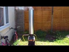 Rocket Stove - Instant Water Heater Mk2 - YouTube