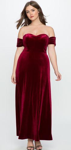 14 Best Velvet Dresses Plus Size images | Plus size dresses, Plus ...