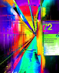A very colorful and quite dreamy view of the Street Subway Stop on Manhattan's Upper Westside of New York City in the United States of America or the USA for short, Enjoy. Ben Stein, Fine Art Prints, Framed Prints, Art Market, Art World, Wood Print, Wonders Of The World, New York City, Colorful