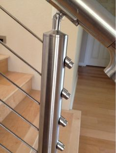 Bakersfield California - Round Stainless Steel Posts with Stainless Cable Infill from SCR