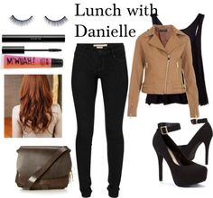 """""""Lunch with Danielle"""" by foreveryoungonedirection ❤ liked on Polyvore"""