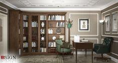 Amenajare casa – design interior in stil clasic - Studio inSIGN Design Interior, Bookcase, Divider, Shelves, Projects, Room, Furniture, Home Decor, Travertine