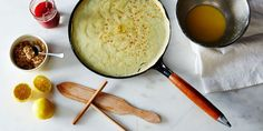 The Crêpe-Making Hack We're Flipping For Homemade Crepes, Enameled Cast Iron Cookware, Crepe Pan, How To Make Crepe, Best Banana Bread, Hacks, Sweet And Salty, Food 52, Nom Nom