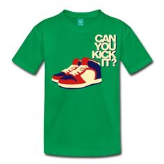 kickKids' Shirts, kelly green.