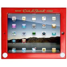 Etch A Stetch Ipad cover....this is great!