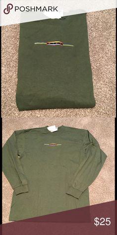 New Nike long sleeve tshirt New Nike long sleeve olive tshirt size medium. Nike Shirts Tees - Long Sleeve