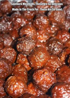 Southern Meatballs, These Are The Best Meatballs You Will Ever Eat Ingredients 1. 1 1/2 cups chili sauce (I used a whole bottle - w...