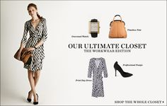 """February 2012   Shopbop """"Our Ultimate Closet"""" The Workwear Edition 14 Pieces 10 Looks  [Look 08]"""
