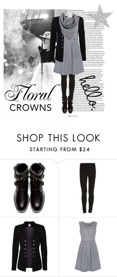 """""""Floral crowns"""" by green-859 ❤ liked on Polyvore featuring ASOS, Yves Saint Laurent, VILA, Vero Moda, Poem and A.L.C."""