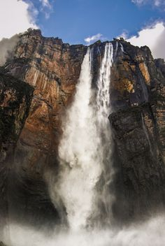 Kerepakupai Merú - One of the most impressive natural spectacles I have ever seen. the Angel Falls in Venezuela.