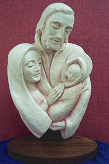 Family Unity by Sr. University Of Dayton, Madonna And Child, Holy Family, Christmas Nativity, St Joseph, Blessed Mother, Mother Mary, Sacred Art, My Children