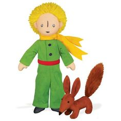 """THE LITTLE PRINCE & FOX 12"""" SOFT TOY"""