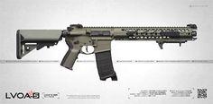 LVOA -S (SBR) RIFLE Weapons Guns, Guns And Ammo, Lvoa Rifle, Custom Ar15, Ar Rifle, Ar 15 Builds, Ar Build, Ar Pistol, Fire Powers