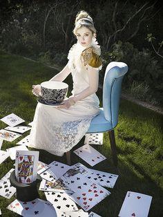 Alice in Wonderland by roxanneparker, via Flickr