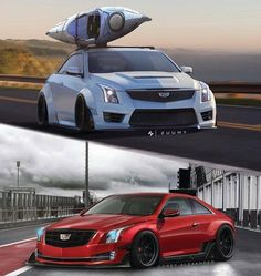 THIS or THAT? Cadillac widebody concepts. #ItsWhiteNoise #THISorTHAT #Facebook @zuumy/@coreyalexanderr check out our Facebook page for your daily dose of THIS or THAT
