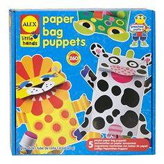 ALEX Toys Little Hands Paper Bag Puppets >>> Find out more details @