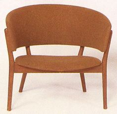 Easy Chair. Teak. Nanna Ditzel 1952 for Kurt Willadsen.